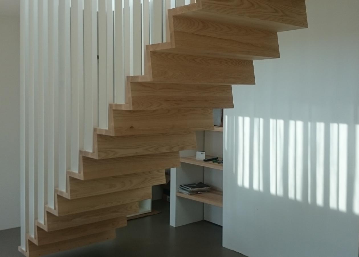 Z trap joyce flendrie interior design - Beneden trap ...
